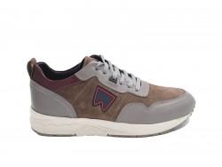 Λαδί sneakers με κορδόνια