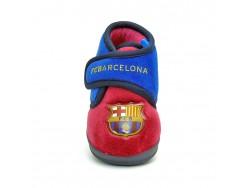 Barcelona μπλε μπορντό παιδικό παντοφλάκι κλειστό ΠΑΝΤΟΦΛΕΣ