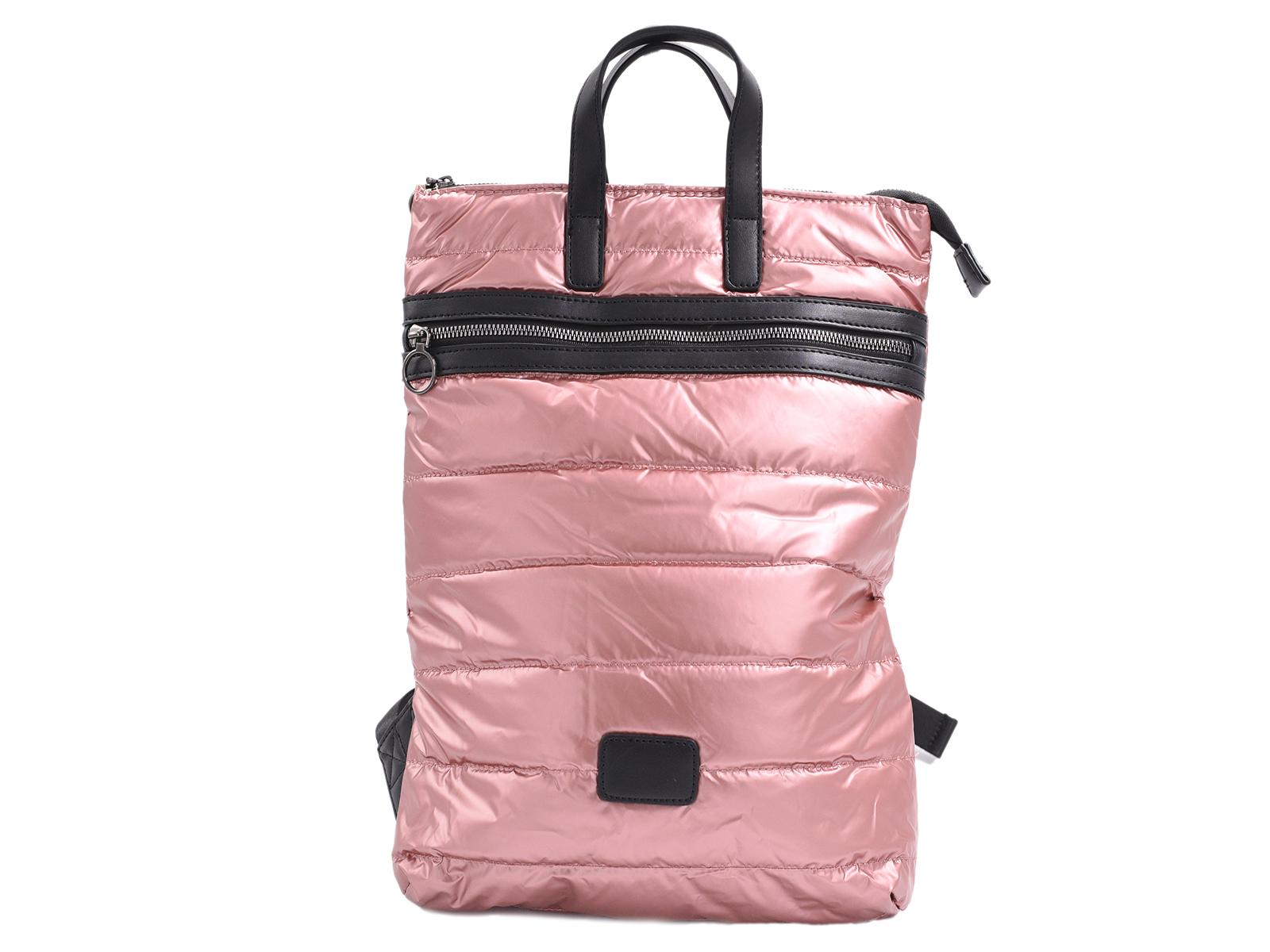 Ροζ puffer backpack ΓΥΝΑΙΚΕΙΑ